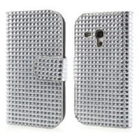 Čiré puzdro pre Samsung Galaxy S3 mini / i8190 - kamínkové