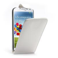 Flipové puzdro pro Samsung Galaxy S4 i9500- biele