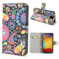 Peňaženkové puzdro na Samsung Galaxy Note 3- vzory