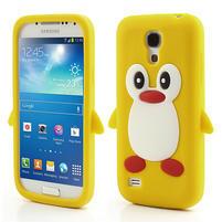 Silikon 3D TUČŇÁK pro Samsung Galaxy S4 mini i9190- žltý