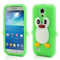 Silikon 3D TUČŇÁK pro Samsung Galaxy S4 mini i9190- zelený