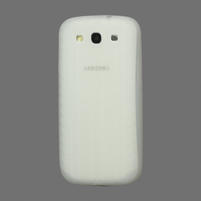 Silikonové PNEU pozdro pre Samsung Galaxy S3 i9300 - Transparent