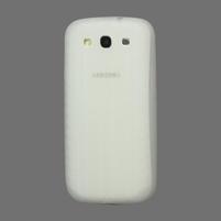 Silikonové PNEU pozdro pre Samsung Galaxy S3 i9300 - biele