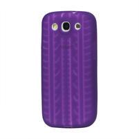 Silikonové PNEU pozdro pre Samsung Galaxy S3 i9300 - fialové