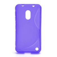 Gélové S-line puzdro na Nokia Lumia 620- fialové