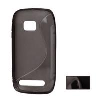 Gélové S-line puzdro pre Nokia Lumia 710- čierné