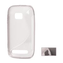 Gélové S-line puzdro pre Nokia Lumia 710- transparentný