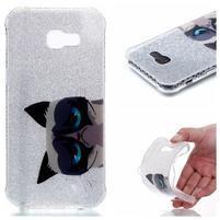 Emotive gélový obal pre mobil Samsung Galaxy A3 (2017) SM-A320 - mačka