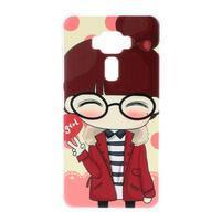 Plastový obal pre mobil Asus Zenfone 3 ZE520KL - girl