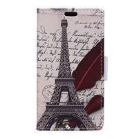 Emotive peňaženkové puzdro pre BlackBerry DTEK50 - Eiffelka