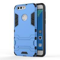 Outdoor odolný obal pre mobil Honor 8 - svetlomodrý