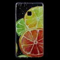 Patty gelový obal na mobil Huawei P9 Lite - citrusy