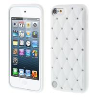 Brite silikónový obal s kamienkami iPod Touch 6 / Touch 5 - biely