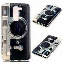 Emotive gelový obal na mobil LG K8 - retro foťák