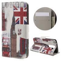 Emotive PU kožené puzdro pre LG K8 - United Kingdom