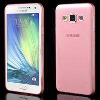 Slim obal pre Samsung Galaxy A3    - červené