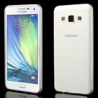 Slim obal pre Samsung Galaxy A3 - transparentný