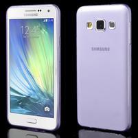 Slim obal pre Samsung Galaxy A3    - fialové
