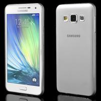 Slim obal pre Samsung Galaxy A3    - šedé