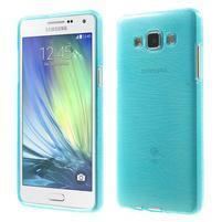 Brúsený gélový obal Samsung Galaxy A5 - tyrkysový