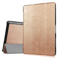 Trifold polohovateľné puzdro na tablet Acer Iconia One 10 B3-A30 - zlaté