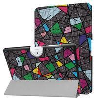 Motive PU kožené puzdro na Acer Iconia One 10 B3-A40 - abstrakt