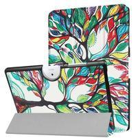 Motive PU kožené puzdro na Acer Iconia One 10 B3-A40 - farebný strom