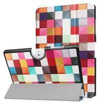 Motive PU kožené puzdro na Acer Iconia One 10 B3-A40 - triangle