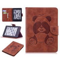 Printy PU kožené puzdro na Amazon Kindle Paperwhite 1, 2 a 3 - hnedé