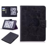 Printy PU kožené puzdro na Amazon Kindle Paperwhite 1, 2 a 3 - čierne