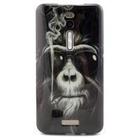 Gélový obal Asus Zenfone 2 ZE551ML -  fajčiací orangutan