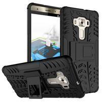 Outdoor odolný obal na Asus Zenfone 3 Deluxe ZS570KL - čierny
