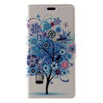 Patty peňaženkové puzdro na Asus Zenfone 4 Max ZC520KL - kvitnúci strom