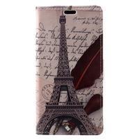 Patty peňaženkové puzdro na Asus Zenfone 4 Max ZC520KL - Eiffelova veža