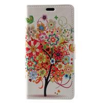 Patty peňaženkové puzdro na Asus Zenfone 4 Max ZC520KL - rozkvitnutý strom