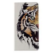 Patty peňaženkové puzdro na Asus Zenfone 4 Max ZC520KL - tiger
