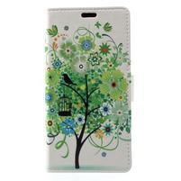 Patty peňaženkové puzdro na Asus Zenfone 4 Max ZC520KL - zelený strom