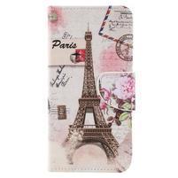 Patty peňaženkové puzdro na Asus Zenfone 4 Max ZC554KL - Eiffelovka
