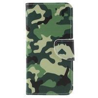 Patty peňaženkové puzdro na Asus Zenfone 4 Max ZC554KL - maskovanie
