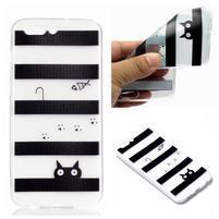 Slim gélový obal s motívom na Asus Zenfone 4 ZE554KL - mačka