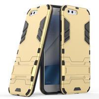 Armory odolný obal so stojančekom na Asus Zenfone 4 ZE554KL - zlatý
