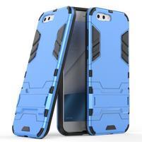 Armory odolný obal so stojančekom na Asus Zenfone 4 ZE554KL - modrý