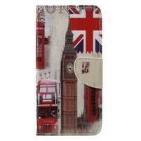 Emotive knižkové puzdro na Asus Zenfone 4 ZE554KL - Londýn