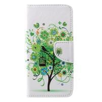 Emotive knižkové puzdro na Asus Zenfone 4 ZE554KL - jarný strom