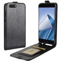 Flipové PU kožené puzdro na mobil Asus Zenfone 4 ZE554KL - čierne