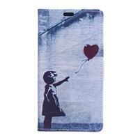 Flapy peňaženkové puzdro na Asus Zenfone Live ZB501KL - retro láska