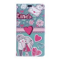 Flapy peňaženkové puzdro na Asus Zenfone Live ZB501KL - love