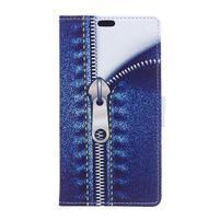 Flapy peňaženkové puzdro na Asus Zenfone Live ZB501KL - zips