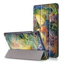 Patty polohovateľné puzdro na Asus Zenpad 10 Z301MFL/Z301ML - farby prírody