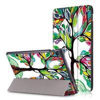 Patty polohovateľné puzdro na Asus Zenpad 10 Z301MFL/Z301ML - maľovaný strom